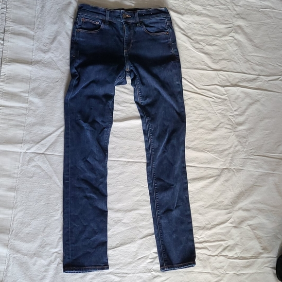 Express mid-rise skinny jeans!